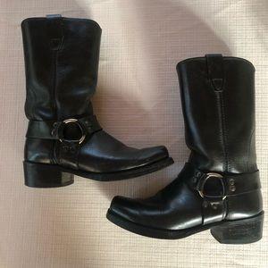 Durango Men's Harness Boots Black 8.5